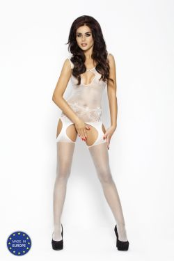 Bodystocking BS011 white